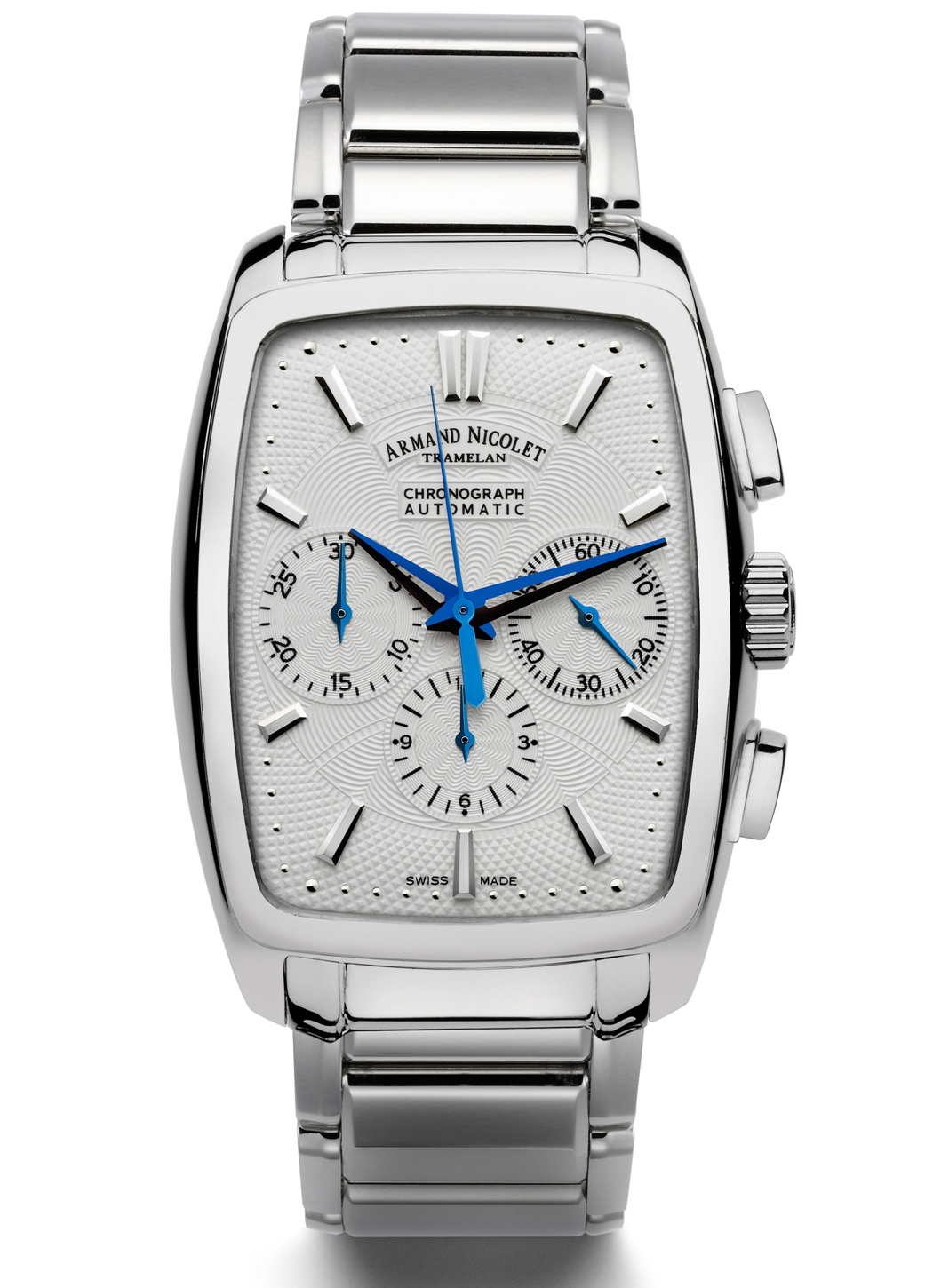 Armand nicolet tm7 chronograph automatic watch new 9634a ag m9630 for Armand nicolet watches