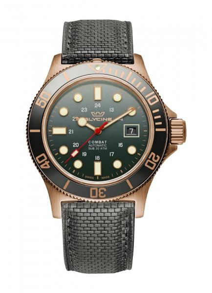 Glycine Combat Sub 42 Bronze Datum Automatik GL0281