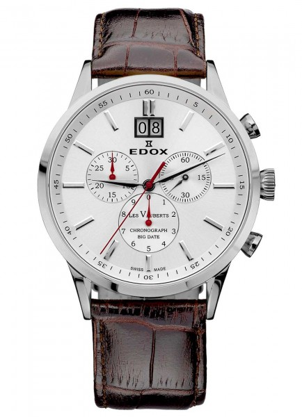 Edox Les Vauberts Big Date Chronograph 10010 3A AIN