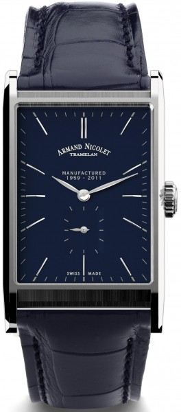 Armand Nicolet L11 Small Seconds Limited Edition 9680A-BU-P680BU4