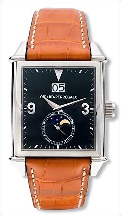 Girard Perregaux Vintage 1945 Big Date Mondphase 18Kt Gold