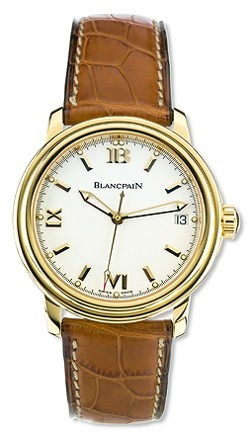 Blancpain Léman Ultraflach 18Kt Gold 2101.1418.53