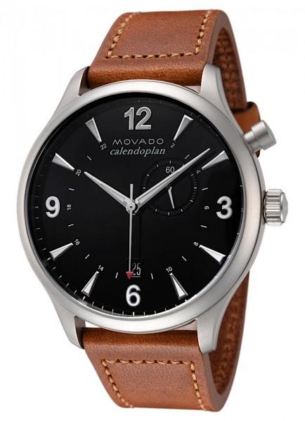 Movado Heritage Calendoplan Datum GMT Quarz 3650016