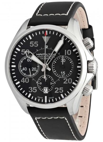 Hamilton Khaki Pilot Chronograph Automatik H64666735