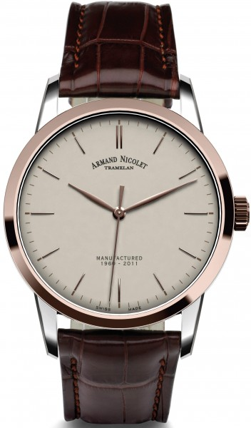 Armand Nicolet L10 Central Seconds Limited 8670A-AG-P670MR1