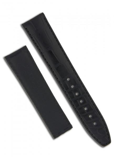 Maurice Lacroix Uhrenarmband aus Krokodilleder 20mm/18mm für Faltschließe