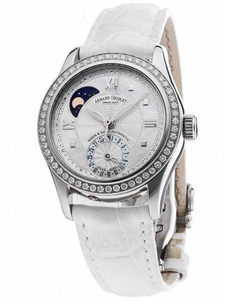 Armand Nicolet M03 Mondphase & Datum mit Diamanten 9151D-AN-P915BC8