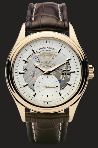 Armand Nicolet LE Small Second 7140S-AG-P714MR2