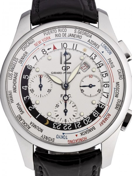 Girard Perregaux Worldtimer - WW.TC 49805-11-151-ABA6A