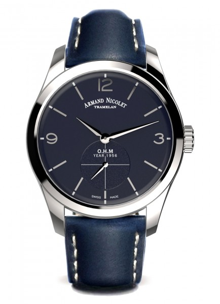 Armand Nicolet LB6 Small Seconds Limited Edition A134AAA-BU-P140BU2