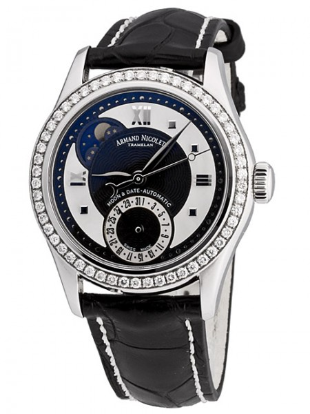 Armand Nicolet M03 Moonphase & Date 9151D-NN-P915NR8