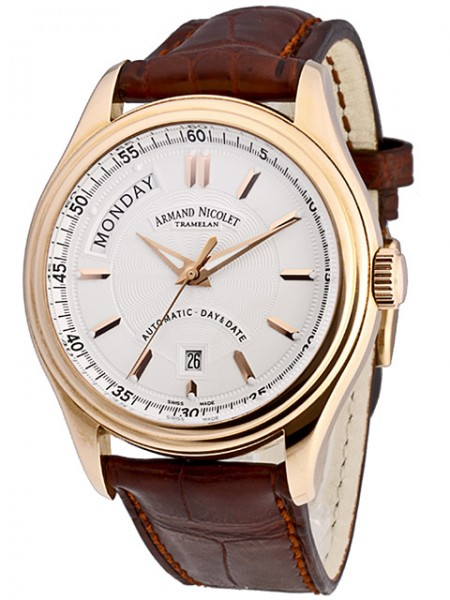 Armand Nicolet M02 Day & Date 7141A-AG-P914MR2