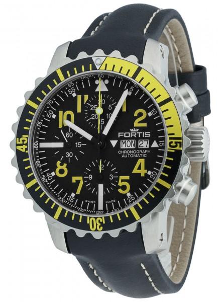 Fortis Aquatis Marinemaster Chronograph Yellow 671.24.14 L.01