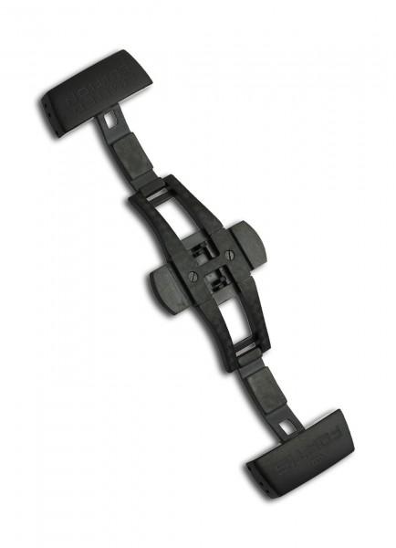 Fortis Faltschließe Titan PVD Schwarz 18mm -Limited Edition-
