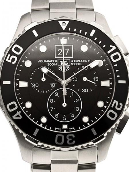 TAG Heuer Aquaracer Grande Date Chronograph CAN1010-BA0821