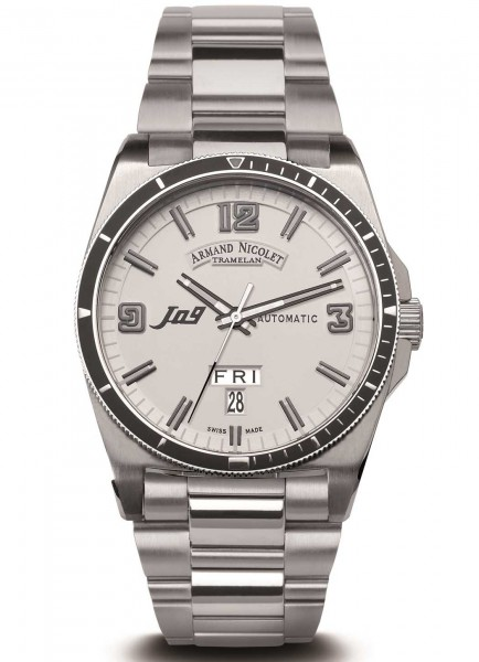 Armand Nicolet J09 Day Date Automatic 9660A-BC-M9650