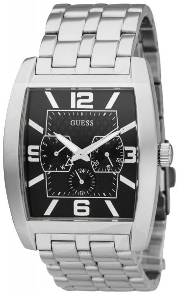 Guess Power Broker Day-Date Herrenuhr Quarz W95015G1