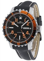Fortis Aquatis Marinemaster Day/Date Orange 670.19.49 L.01
