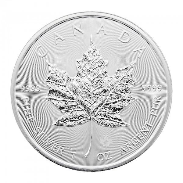 1 oz Kanada 2016 Maple Leaf 1 Unze 999,9/1000 Silbermünze