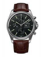 Glycine Combat Classic Chronograph Datum Wochentag Automatik 3950.191.LBK7F