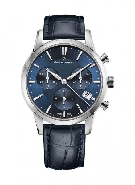 Claude Bernard Jolie Classique Chronograph Datum Quarz 10231 3 BUIN