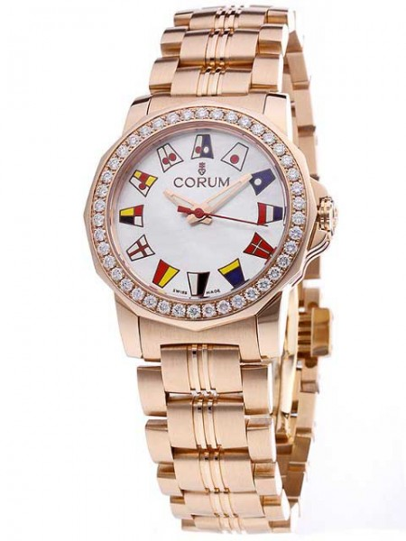 Corum Admirals Cup Gold/Diamanten 039-440-85-V780 PN14
