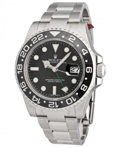 Rolex GMT Master II Stahl 116710LN ungetragen