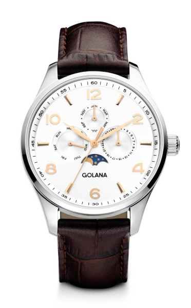 Golana Swiss Classic Pro Vollkalender Mondphase CL200.3