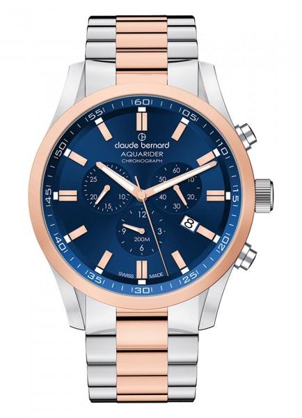 Claude Bernard Aquarider Chronograph 10222 357RM BUIR1