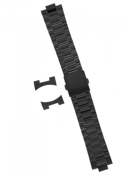 Claude Bernard Uhrenarmband Edelstahl PVD 22 mm mit Faltschließe