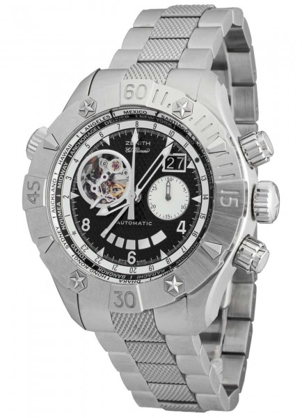 Zenith Defy Classic Grande Date Multicity GMT Chronograph 03.0526.4037/21.M526