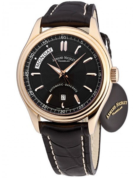 Armand Nicolet M02 Day & Date 7141A-NR-P914NR2