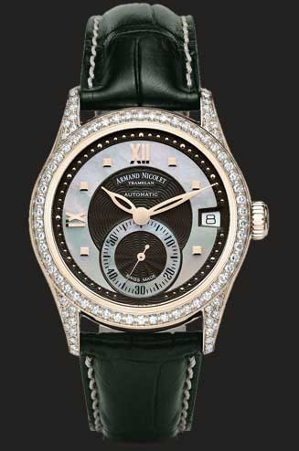 Armand Nicolet M03 Small Seconds & Date 7155L-NN-P915NR8