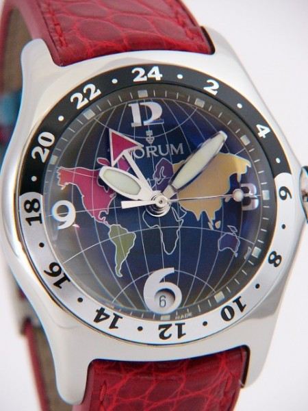 Corum Bubble GMT Automatik 383-250-20-0f06 fn24r