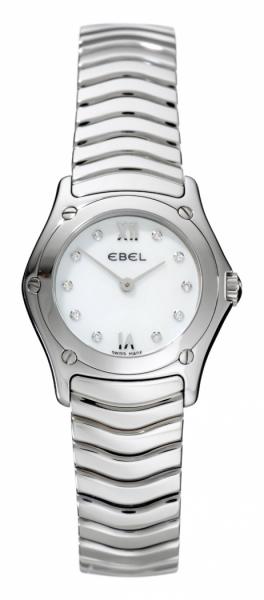 Ebel Classic Wave Mini mit Diamanten 9157F12-9725