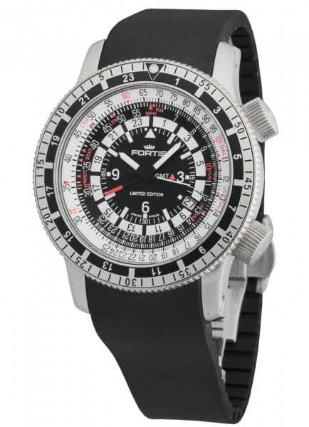 Fortis B-47 Calculator 3 Time Zones Limited Edition 669.10.31 K