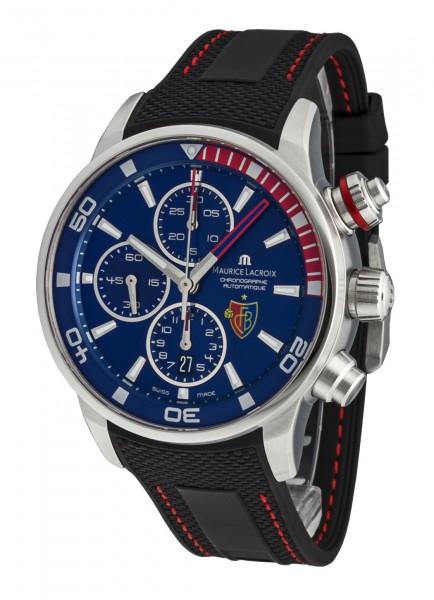 Maurice Lacroix Pontos Chronograph -FC Basel- PT6008-SS001-432-1
