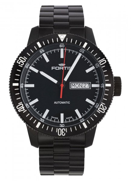 Fortis B-42 Monolith Day/Date Automatic 647.18.31 M