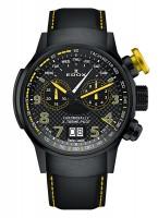 EDOX Chronorally X-treme Pilot Großdatum Wochentag Chronograph Quarz 38001 TINNJ NJ3