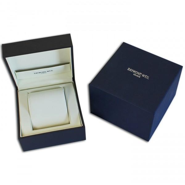 Raymond Weil Original Uhrenbox Uhrenkiste Blau
