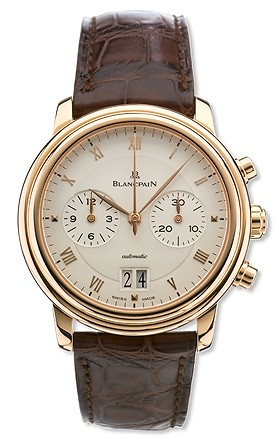 Blancpain Villeret Chronograph in 18kt Gold 6885-3642-55