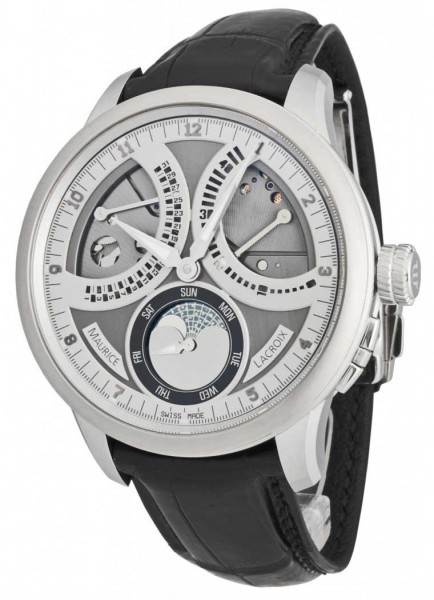 Maurice Lacroix Masterpiece Lune Retrograde MP7278-SS001-320