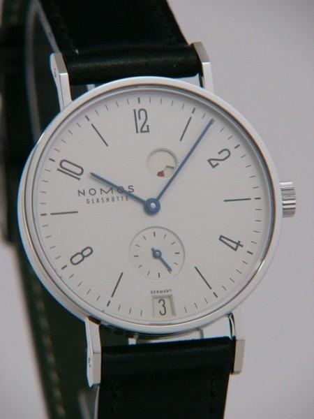 Nomos Tangente Datum Gangreserve Glasboden 131 R