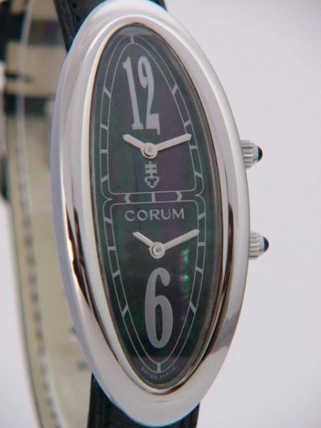CORUM Lady Oval Dualtime 137-220-20-0001pn23