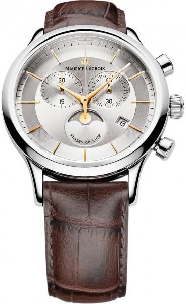 Maurice Lacroix Les Classiques Chronographe Phase de Lune LC1148-SS001-132