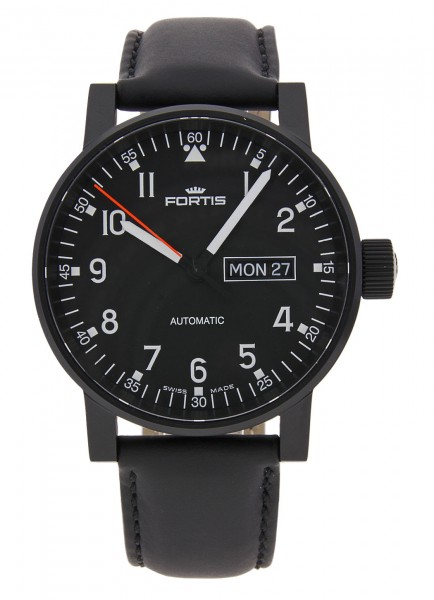 Fortis Spacematic Pilot Professional Day/Date Automatik 623.18.71 L.10