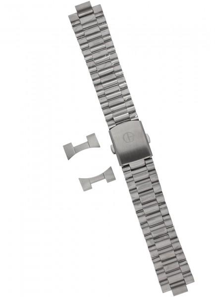 Claude Bernard Uhrenarmband Edelstahl 20 mm mit Faltschließe