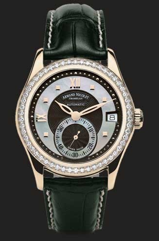 Armand Nicolet M03 Small Seconds & Date 7155D-NN-P915NR8