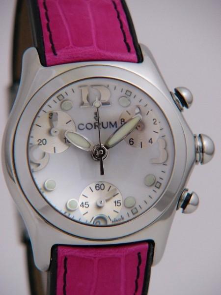 Corum Bubble Damen Chronograph 196-250-20-0f18eb30r