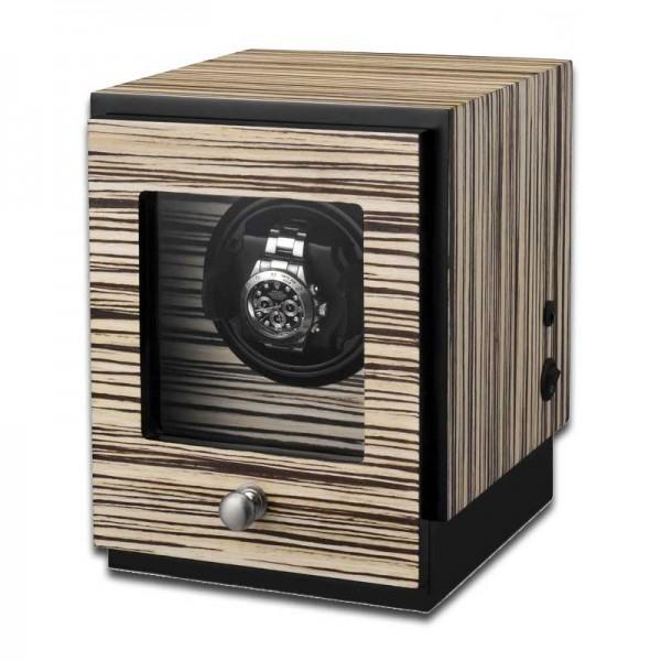 Uhrenbeweger für 1 Uhr UBO2041 - Zebraholz
